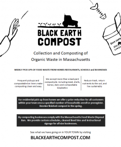 Black Earth Compost Printable Flyer